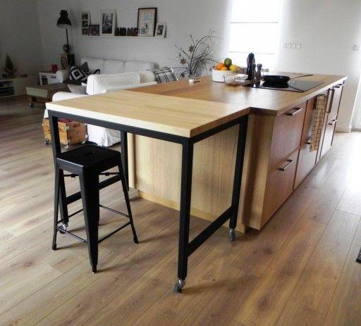 Znalezione Obrazy Dla Zapytania Mobilna Wyspa Kuchenna Bar Table Home Decor Decor