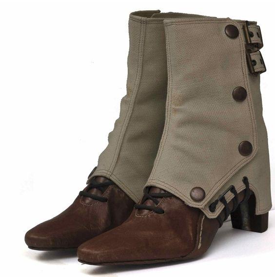 Safari : Liam Fahy Shoes. old school safari style:)