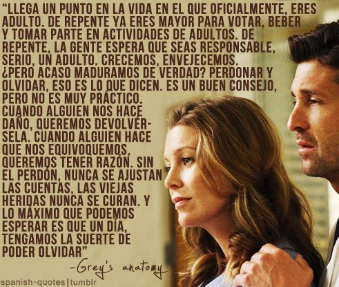 frases de grey s anatomy