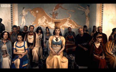 speech on minoan legends