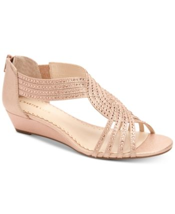 Charter Club Ginifur Wedge Sandals, Created for Macy's