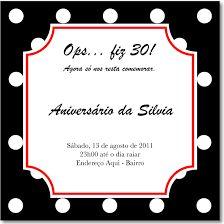 Tag Convite De Aniversario De 40 Anos Engraçado