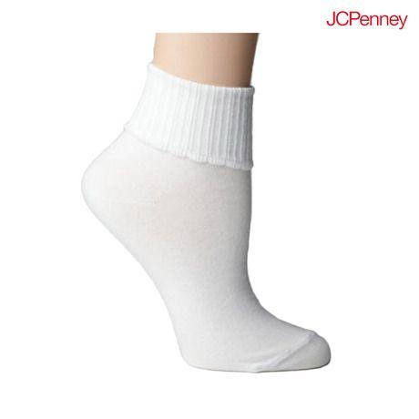9 Pairs: J.C. Penny Girls' White Bobbie Socks at 65% Savings off Retail! http://vnlink.co/Sj28dwi