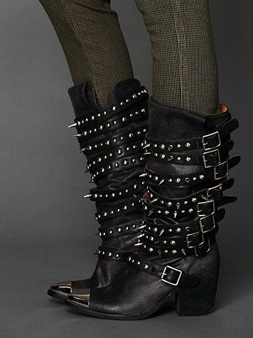 Kravitz Stud Boot- I would love to wear these if I was slightly younger and lived in a place that was a lot cooler.  You just can't wear these to the Safeway in the suburbs!
