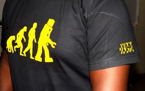 """the evolution of man"""