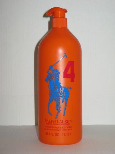 Ralph Lauren Men's Orange Big Pony Polo