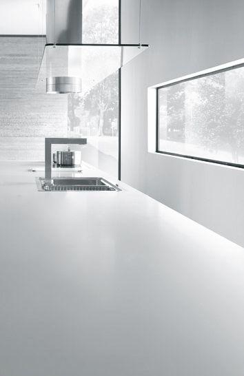 Linea kitchen kitchen k che cuisine design comprex architekt marconato zappa - Linea cuisine ...