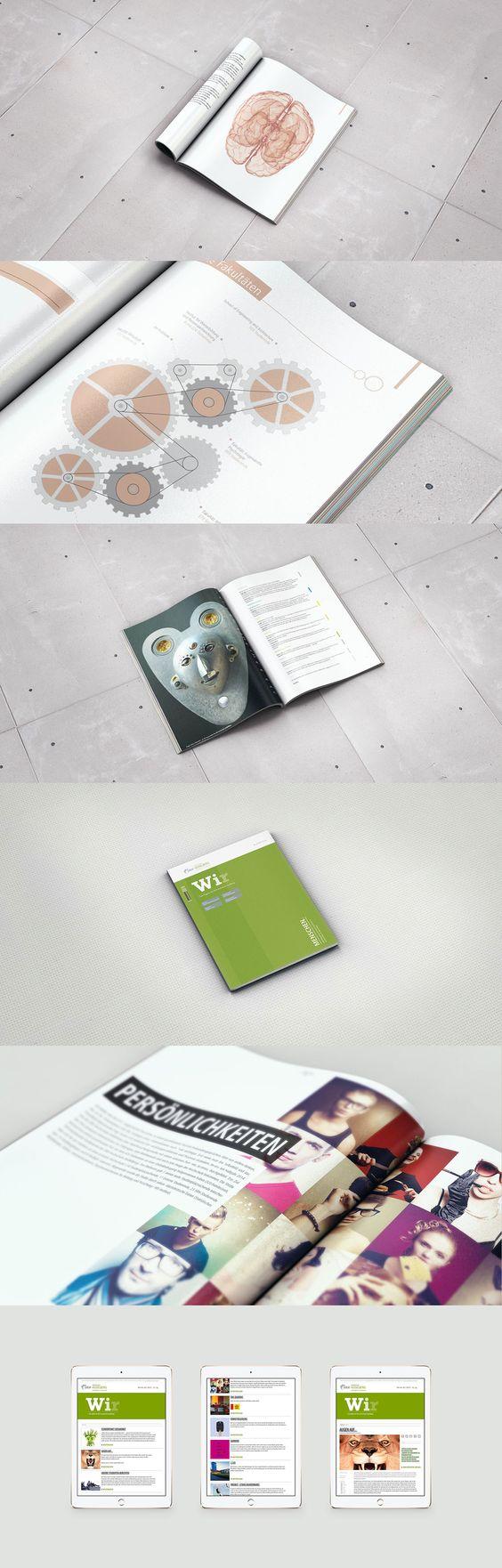 Jahresbericht, Magazin, Newsletter, Print, Digital, Web, annual reports, design
