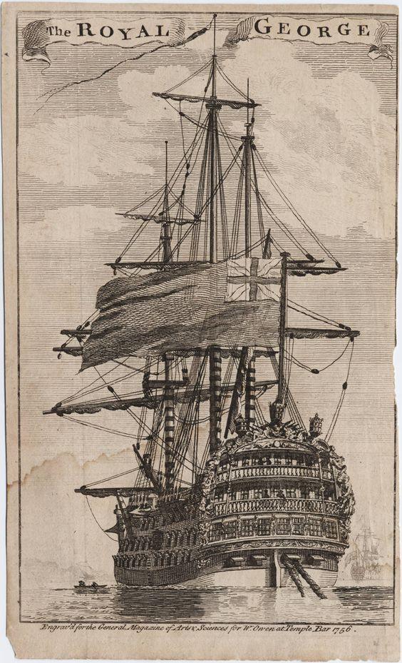 Dibujo de navío.