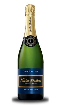 Champagne Nicolas Feuillatte Brut Réserve  I love this champagne...