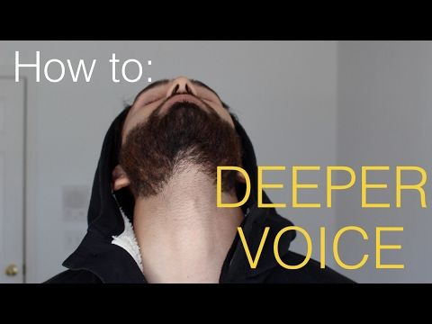 How To Make Your Voice Deeper 4 Steps Youtube The Voice Your Voice Personal Development