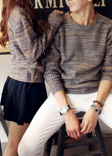 Couples dress alike . Matching outfit #love: