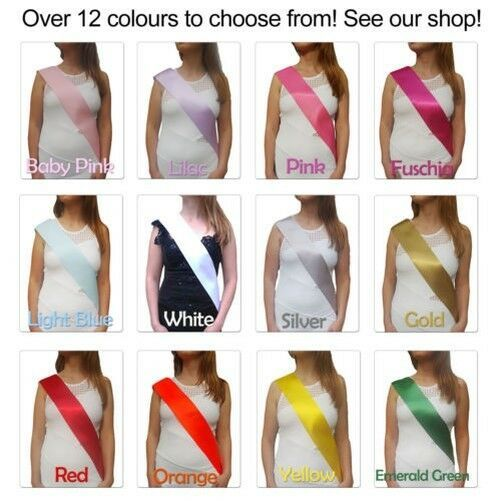 Hen Night Do Party Sash Mother Of The Groom Sash White Lace Hen Party  Accessory