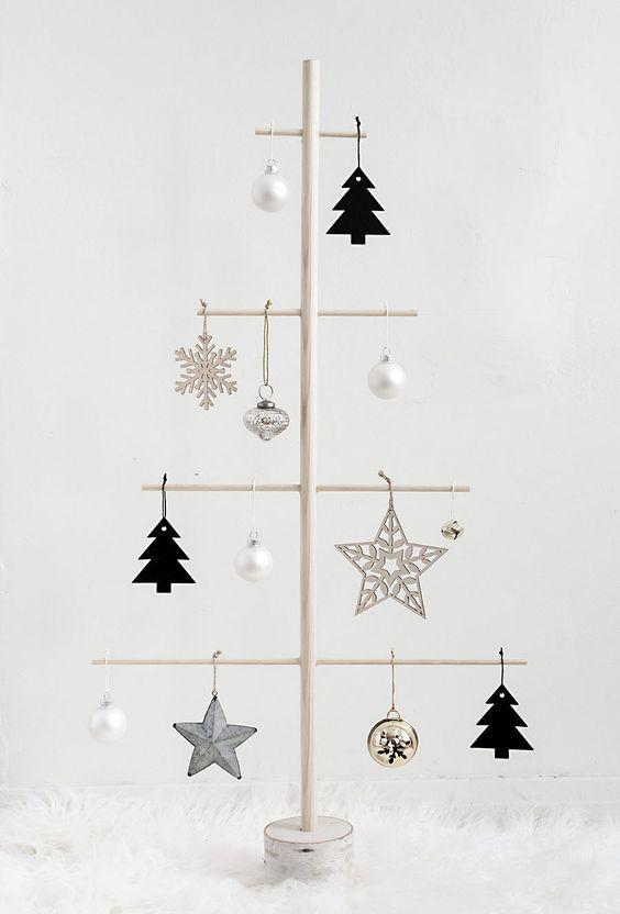 Arbolitos de Navidad alternativos para llevar el espíritu a tu aldea Godín