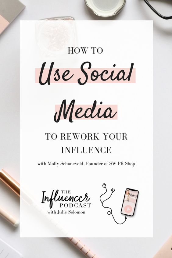 Using Social Media you can rework your influence, Listen to this episode with Molly, founder of SW PR SHOP. The Influencer Podcast with Julie Solomon. EPISODE 025: HOW TO REWORK YOUR STRUGGLING INFLUENCE USING MEDIA OPPORTUNITIES. #JulieSolomonPodcast #TheInfluencerPodcast #InfluencerMarketing #Influencer #SocialMedia #MarketingPodcast