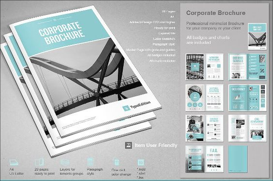 35+ Brochure Template Photoshop Free Download Collections - sample business brochure