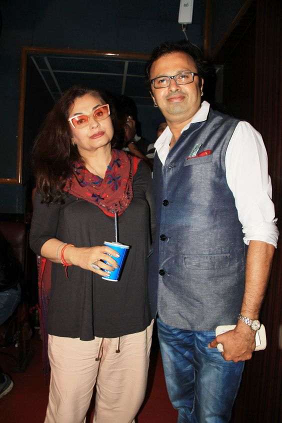 Nikhil Kamath and Salma Agha for the premiere of DunnoY2 Life Is A Moment that signifies the human rights movement towards same sex marriage.jpg