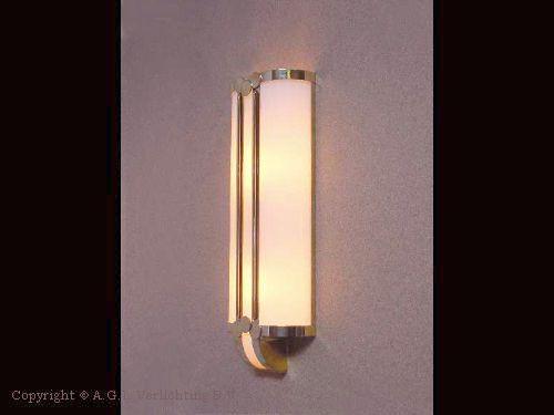 W 0613 art deco wandlamp hxb 500 375 keizersgracht 810 inspiratie pinterest - Art deco wandlamp ...