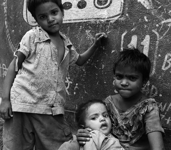 Faces Of A Challenging Childhood, India Photography by El-Branden Brazil