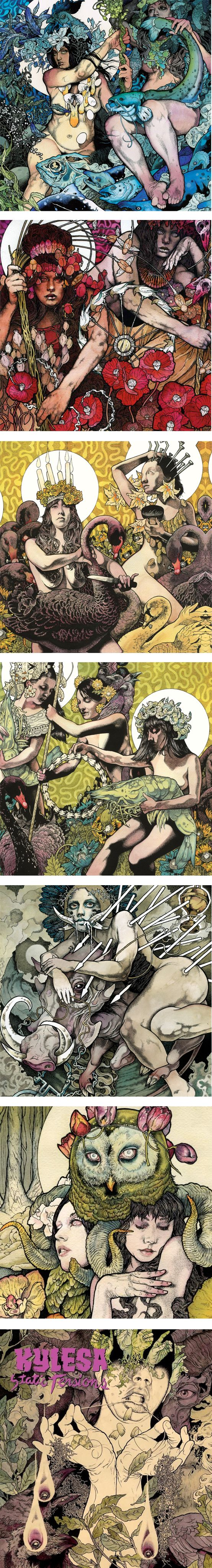 John  Dyer Baizle, Painter and Illustrator from the band Baroness.