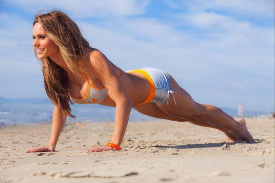 Do the summertime shred workout shuttle to build the beach body you