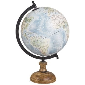 Tendance Cabane Globe Maison Du Monde Decor De Globe Carte Du Monde