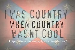 Country girl! :)