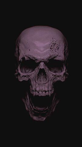 Grey Skull Cool Wallpapers For Phones 4k Wallpaper Iphone Skull Wallpaper