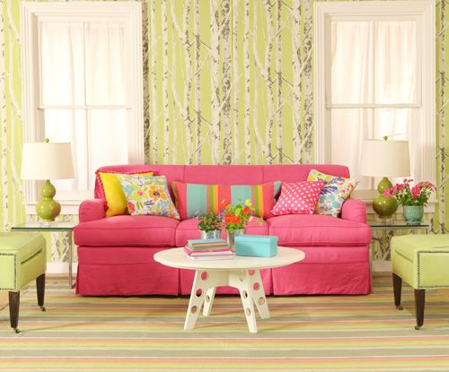 i need a pink sofa.