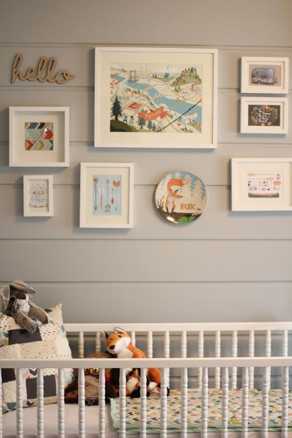 Nurseries Nursery Gallery Walls And Gray Walls On Pinterest