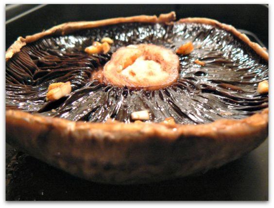 Vegan Veggie Delight: Baked Marinated Portabella Mushrooms
