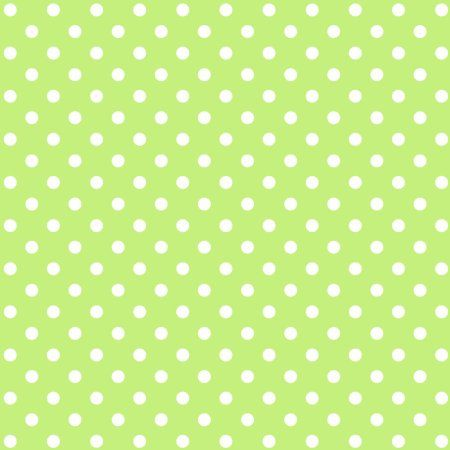 """Mod Dots Green Apples Soft Cotton Flannel, 43"""" By The Yard"""