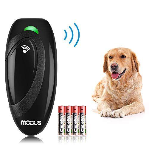 Modus Dog Ultrasonic Trainer Anti Barking Device Dog Bark