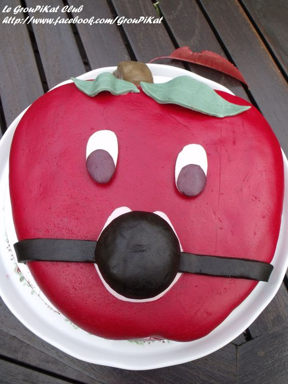 Gateau pomme version SM ! Gagged apple cake