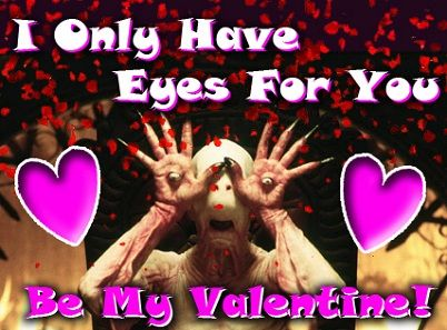 Freddy In Space's Horror Movie Valentines!: