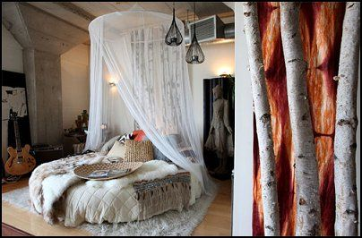 Native American Indian Style Bedroom | ... - American Indian - mexican rustic style - wolf theme bedrooms