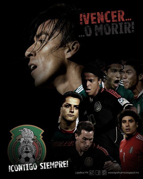 @Selección Mexicana #ContigoSiempre #LigraficaMX #DiseñoYFútbol