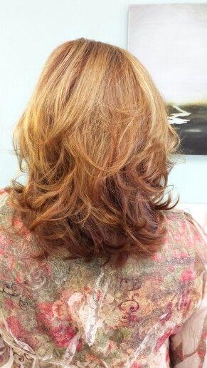 Feminine hair and good hair color. Bangzartandhairsalon.com