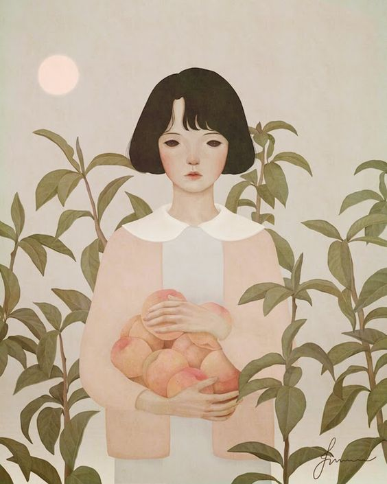 Jiwoon Pak is an illustrator and artist based in Seoul, South Korea. After studying fine art at the Valenciennes Art and Design school (École Supérieure d'Art et de Design de Valenciennes ) in France, she returned to Korea and started to work as a freelance illustrator and artist in 2013.
