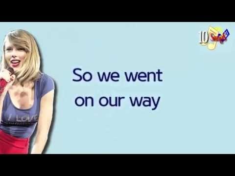 Wonderland- Taylor Swift (Lyrics) - YouTube