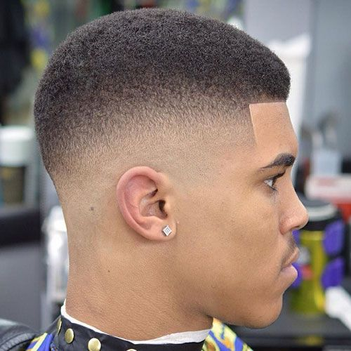 Very Short Hairstyles For Black Men