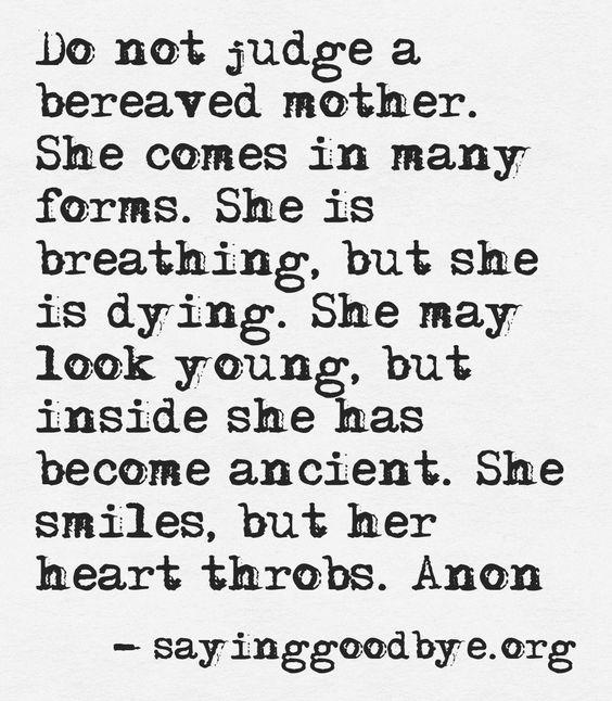 Prayer for bereaved mother