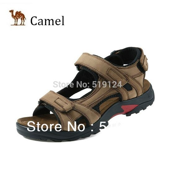 Free Shipping 2014 new cheap summer Camel men's sandals black wedges thick-soled sandals open toe sandals 39-44 yards
