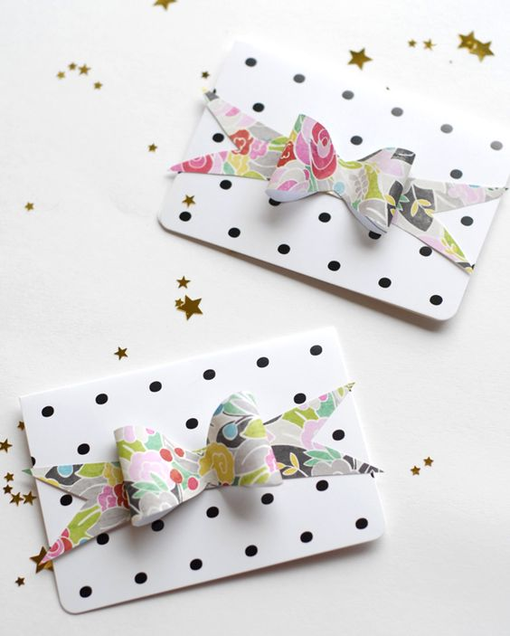 free template   paper bows