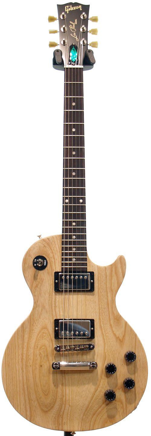 Gibson Les Paul Studio Smartwood (Ash) Natural Satin Chrome Hardware