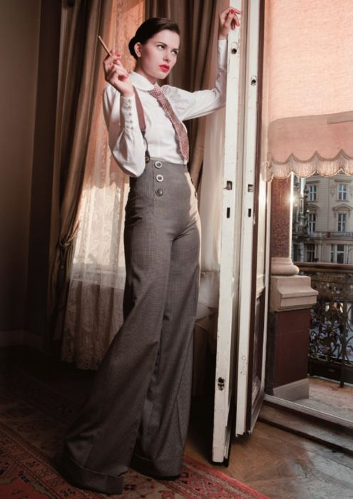 Vintage-inspired fashion from Lena Hoschek.