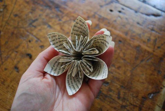 Tuto fleur en papier rigolo d pinterest fleur no l et f tes - Tuto fleur en papier ...