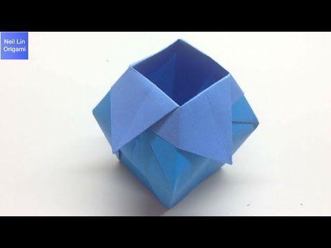 Origami vase - OrigamiArt.Us | 360x480