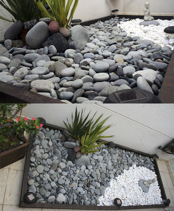 Jardin de piedras terrace outdoor pinterest yards for Jardin 00 garden