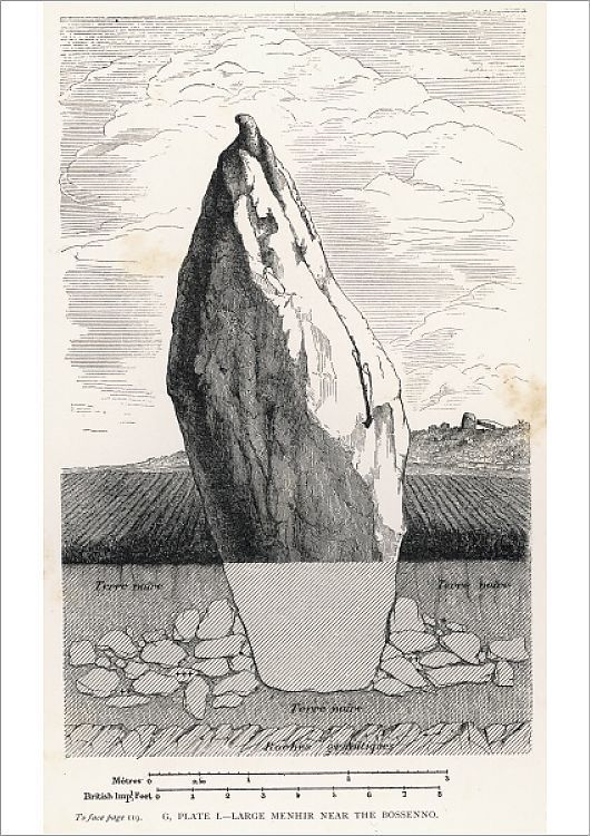 Print Of Menhir Section Bossenno In 2020 Poster Prints Poster Size Prints Online Printing